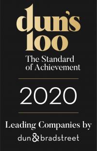 חותם דנס 100 לבן_חותם דנס 100 2020 - אנגלית - עומד - שחור